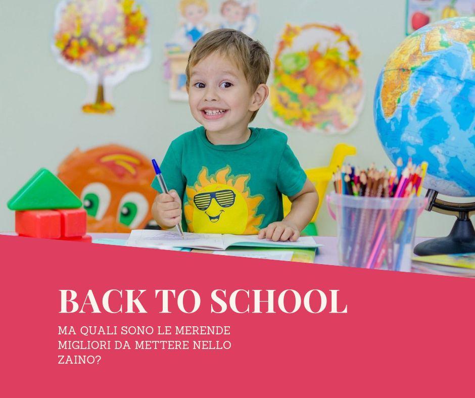 BACK TO SCHOOL …ma quali merende?